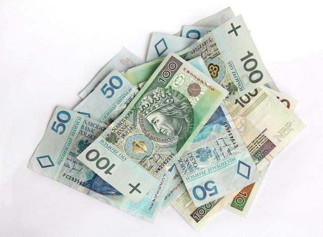 banknoty polski złoty
